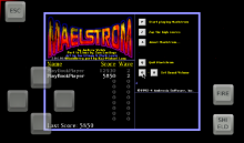 Maelstrom screenshot